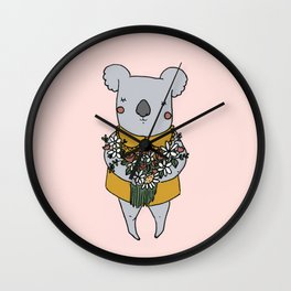 miss Koala Wall Clock