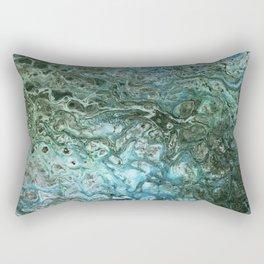 Green Algae Rectangular Pillow