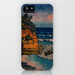 Bathing in Sunset iPhone Case