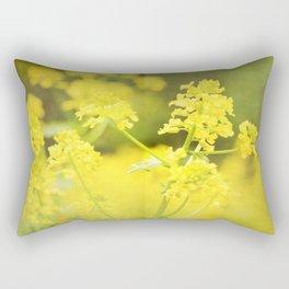 Floral Page Rectangular Pillow