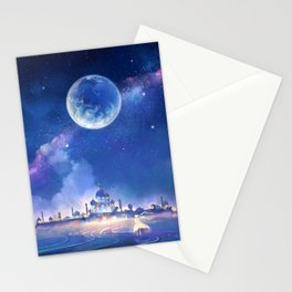 silver millennium Stationery Cards