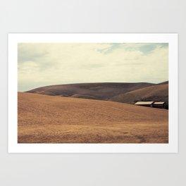 Field and Farmhouse Art Print
