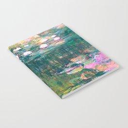 water lilies : Monet Notebook