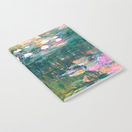 water lilies : Monet Notebook