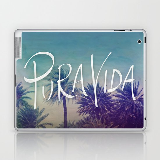Pura Vida Laptop & iPad Skin