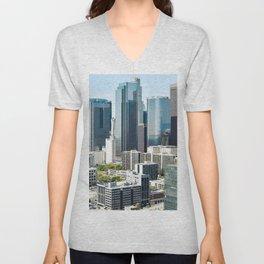 LA Skyscrapers Unisex V-Neck