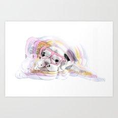 Illustration - PUGGIN Beautiful Art Print