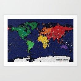 Global Citizen Art Print