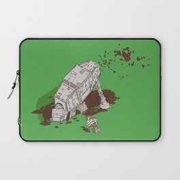 In a backyard, far, far away... Laptop Sleeve