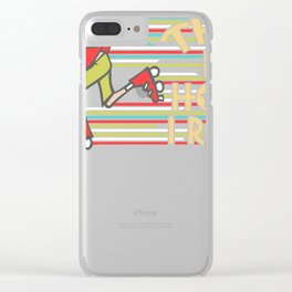 roller skates inline  gift idea scooters sport Clear iPhone Case