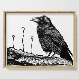 Jovial Raven Serving Tray