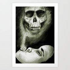 A Smokey Death Art Print