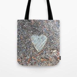 Wild Rock Heart Tote Bag