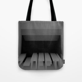 3D Z-DEPTH Tote Bag