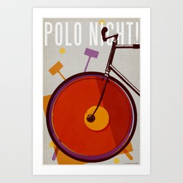 Polo Night! | Polo Art Print
