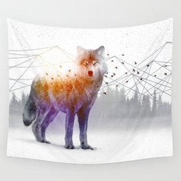 A Wilderness Within / Wolf Wall Tapestry