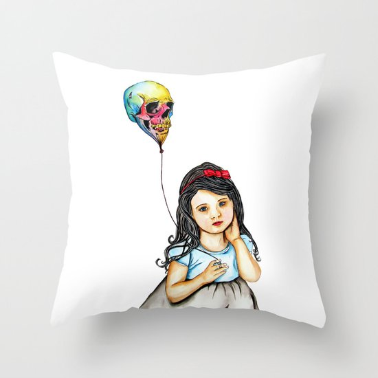 Picture of Innocence  Throw Pillow