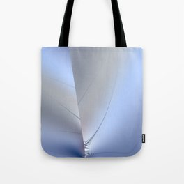 Fractal ice crystals at freezing point Tote Bag