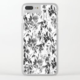 Pattern 81 Clear iPhone Case