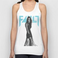 charli xcx Tank Tops featuring Grins ~ Charli XCX by Michelle Rosario