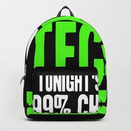 Tonight forecast techno Backpack