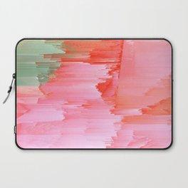Romance Glitch - Pink & Living coral Laptop Sleeve