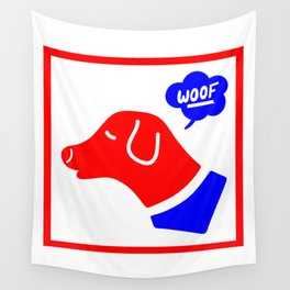 Woof! Wall Tapestry