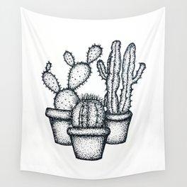 Mini Cactus Wall Tapestry
