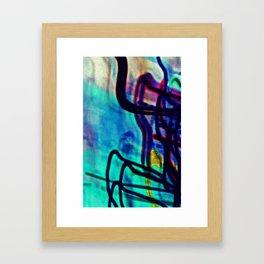 Sea Foam District Framed Art Print