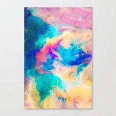 Daub Canvas Print