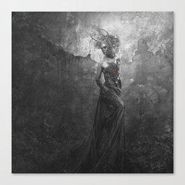 La Veuve Noire Canvas Print