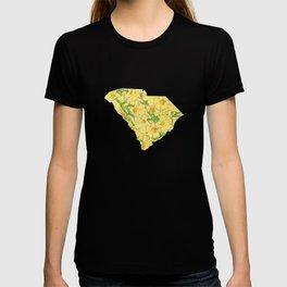 South Carolina in Flowers T-shirt