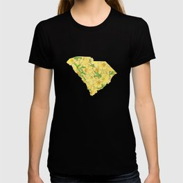 South Carolina in Flowers T-shirt