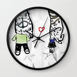 Inkling of Love  Wall Clock