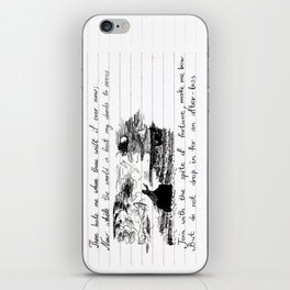 90's Sonnet iPhone Skin