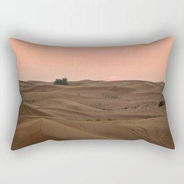 Arabian Desert Sunset Rectangular Pillow