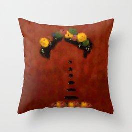 Frida's Tears Throw Pillow