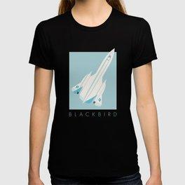 SR-71 Blackbird Supersonic Jet Aircraft - Sky T-shirt