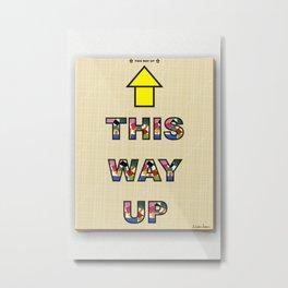 This Way Up 03 Metal Print