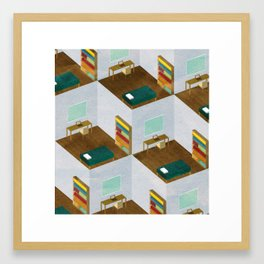 Repetitive Days II Framed Art Print