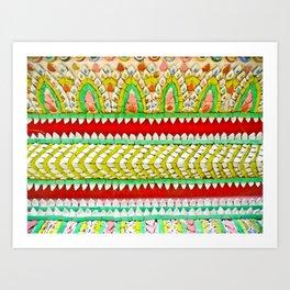 Tile Pattern #1 Art Print