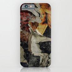 Peeling: Blonde Woman iPhone 6s Slim Case