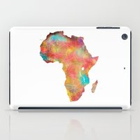 africa iPad Cases featuring Africa by jbjart