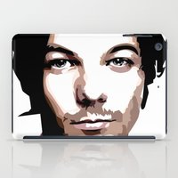 louis tomlinson iPad Cases featuring LOUIS TOMLINSON Vector Portrait by LsArtistry