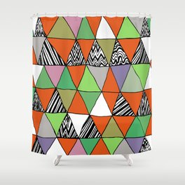 Triangle 2 Shower Curtain