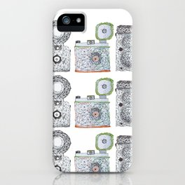 3 is a crowd iPhone Case
