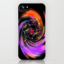 Flowers magic roses 7 iPhone Case