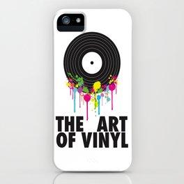 The Art of Vinyl iPhone Case
