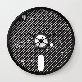 5-25MiniDisk Wall Clock