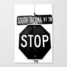 South Tacoma Stop Canvas Print
